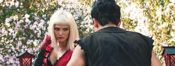 Karl und Danny als Roxette und Lance