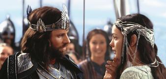 Aragorn und Arwen, deren Vorbild Beren und Lúthien sind