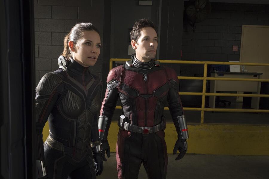 Ant-Man and the Wasp mit Paul Rudd und Evangeline Lilly