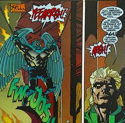 Neron lässt Asmodel in der Hölle foltern