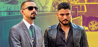 Shia LaBeouf und Bobby Soto in The Tax Collector