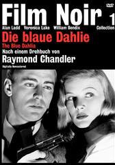 Die blaue Dahlie
