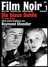 Die blaue Dahlie - Poster