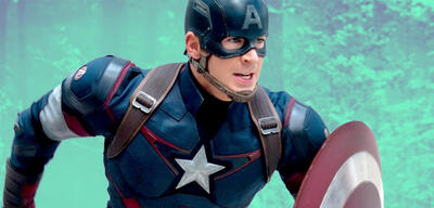 Chris Evans als Captain America in Avengers: Age of Ultron