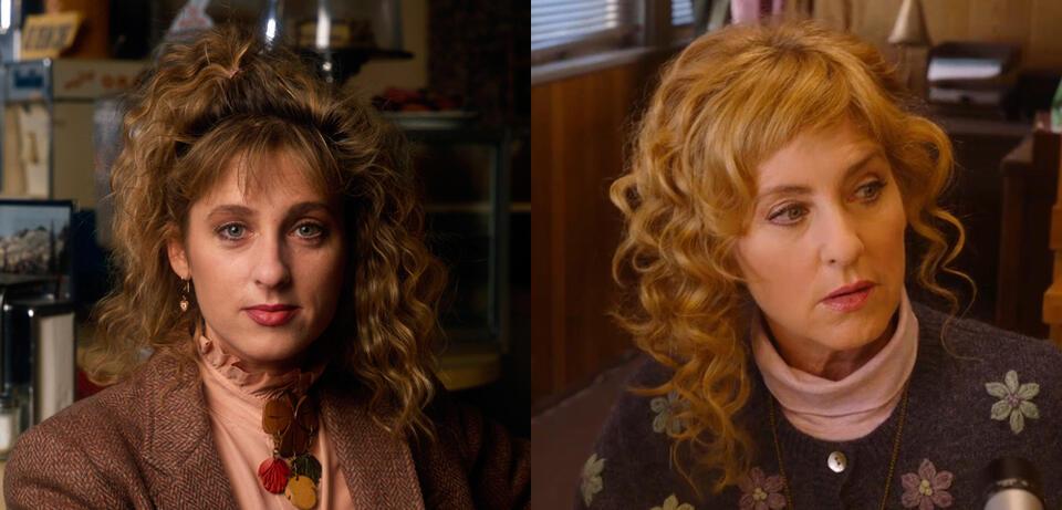 Kimmy Robertson in Twin Peaks 1990 und 2017