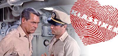 Cary Grant und Tony Curtis in Unternehmen Petticoat