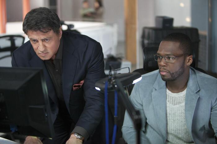 Escape Plan mit Sylvester Stallone und Curtis '50 Cent' Jackson