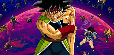 Bardock in Dragon Ball Heroes