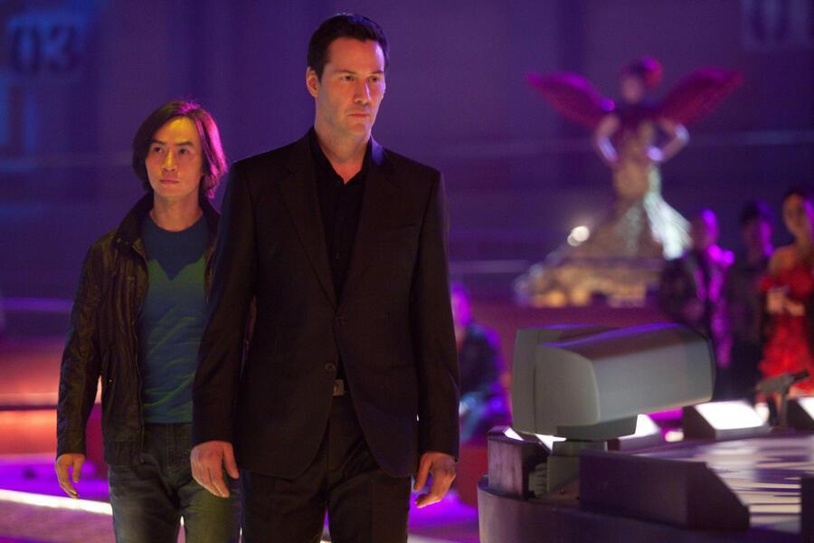 Man of Tai Chi mit Keanu Reeves
