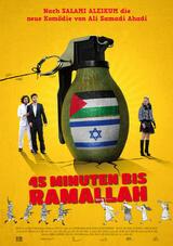 45 Minuten bis Ramallah - Poster