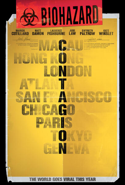 Contagion US-Poster