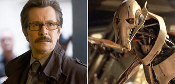 Gary Oldman in der Dark Knight-Trilogie/General Grievous