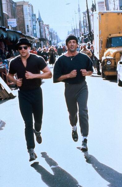 Rocky V mit Sylvester Stallone und Tommy Morrison