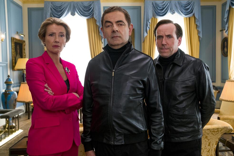 Johnny English - Man lebt nur dreimal mit Rowan Atkinson, Emma Thompson und Ben Miller