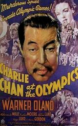 Charlie Chan bei den Olympischen Spielen - Poster