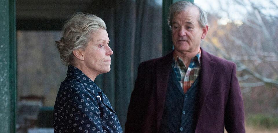 Frances McDormand & Bill Murray in Olive Kitteridge