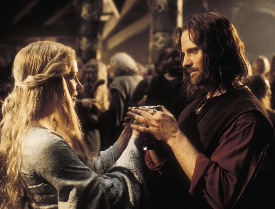 Der Herr der Ringe: Die Rückkehr des Königs mit Viggo Mortensen und Miranda Otto