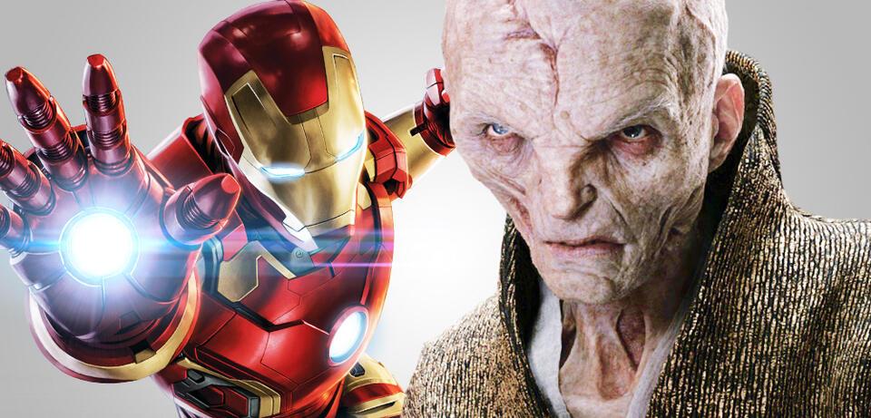 Iron Man und Snoke