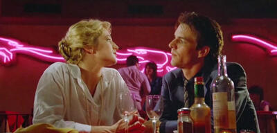 Ellen Barkin und Dennis Quaid in The Big Easy