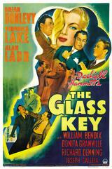 Der gläserne Schlüssel - Poster