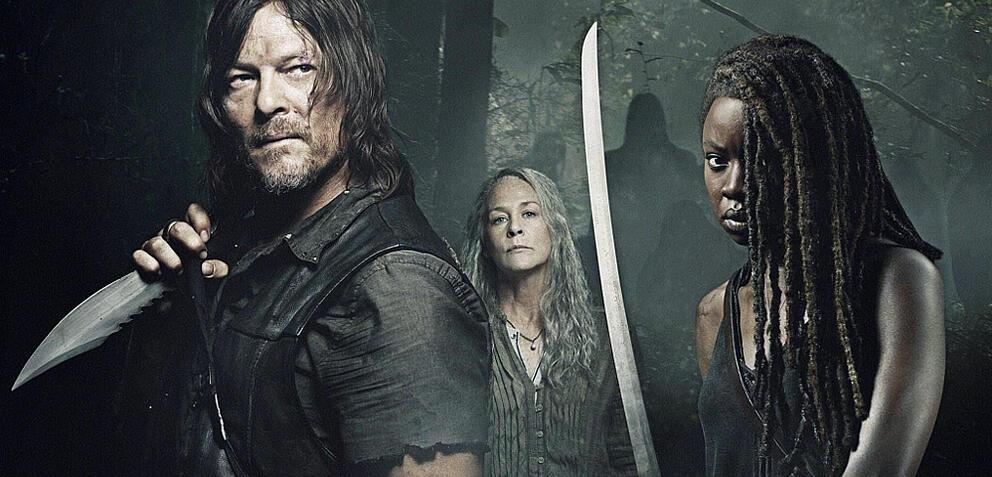 Daryl, Carol und Michonne