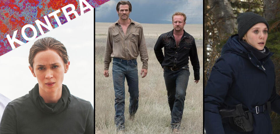 Sicario, Hell or High Water, Wind River
