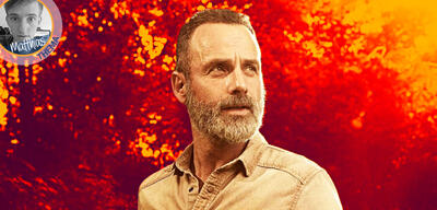 Andrew Lincoln als Rick Grimes in The Walking Dead, Staffel 9