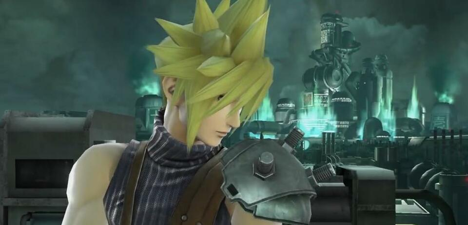Cloud ist bald Kämpfer in Super Smash Bros.