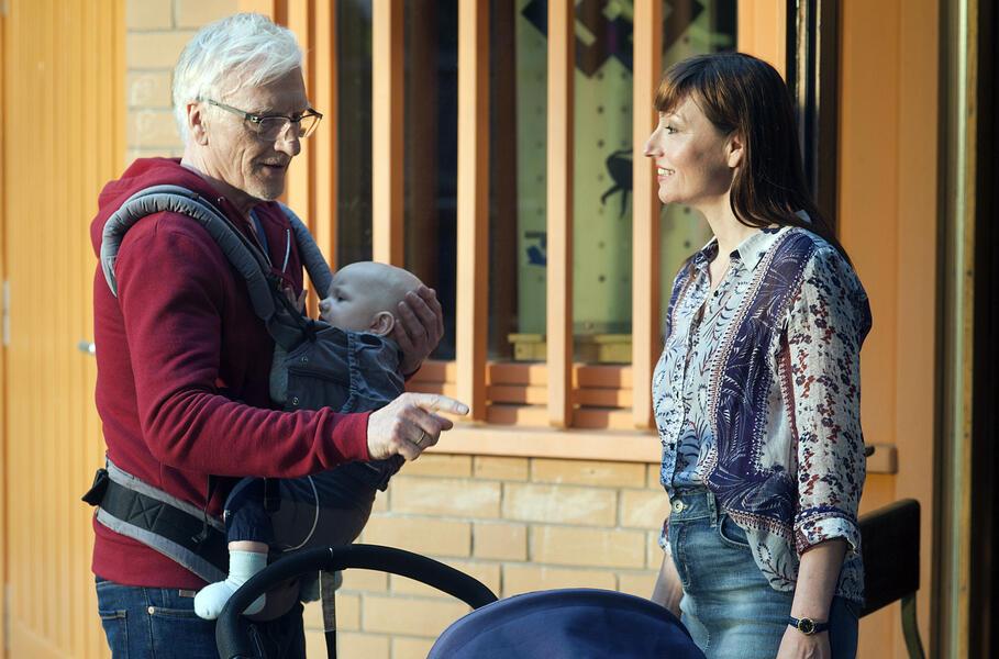 Opa wird Papa mit Natascha Paulick und Ernst Stötzner