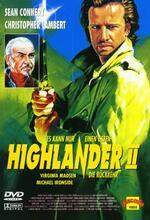 Highlander II - Die Rückkehr Poster