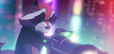Rocket in der animierten Serie