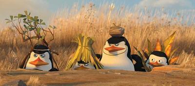 Die Pinguine aus Madagascar bald in 3D auf großer Kinoleinwand