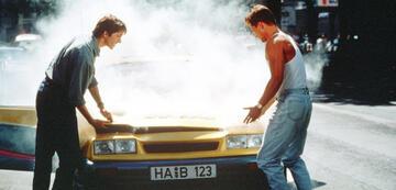 Bertie und Kumpel Gerd haben vor dem Rennen noch mit diversen anderen Problemen zu kämpfen