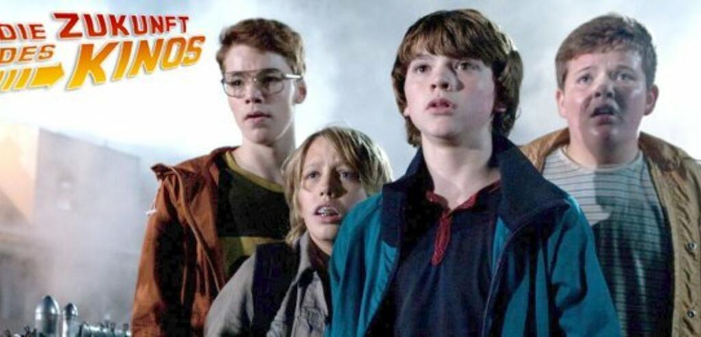 Die jungen Hauptdarsteller von Super 8