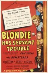Blondie has Servant Trouble - Poster
