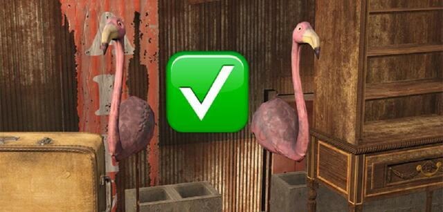 Aus Modepuppen werden Flamingos