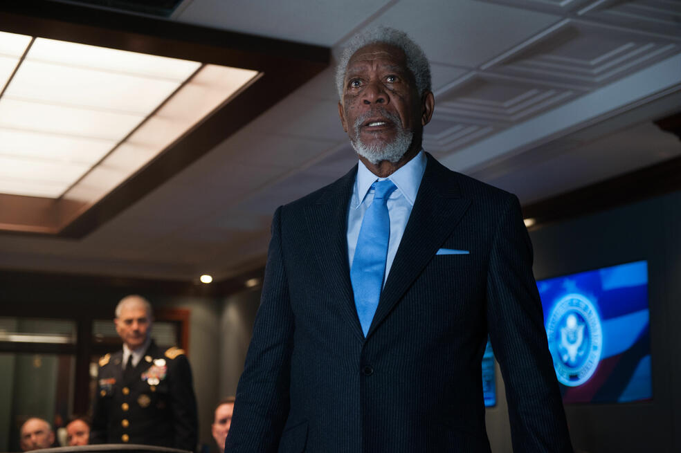 London Has Fallen mit Morgan Freeman