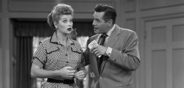 I Love Lucy mit Lucille Ball und Desi Arnaz