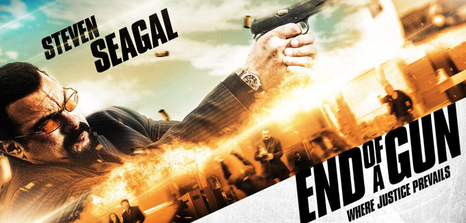 End of a Gun. Leider nicht im Bild: Steven Seagull