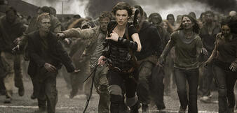 Milla Jovovich in Resident Evil 5: Retribution