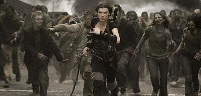 Milla Jovovich inResident Evil 5: Retribution
