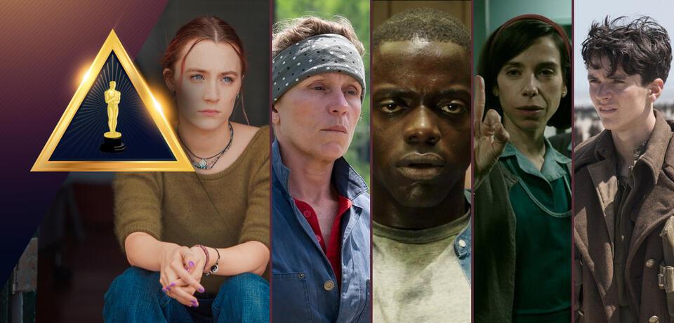 Oscar 2018:Wer gewinnt den Oscar für den Besten Film?