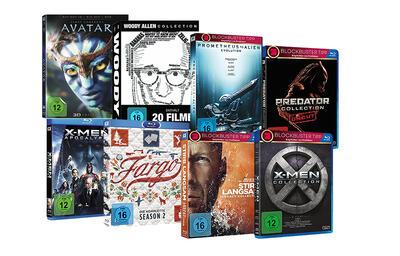 10 Filme und Serien kaufen, nur 5 bezahlen.