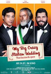 My Big Crazy Italian Wedding Poster