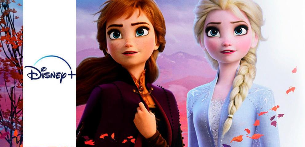 Die Eiskönigin 2 mit Elsa und Anna