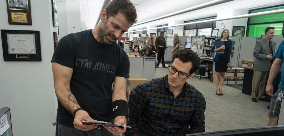 Zack Snyder bei den Dreharbeiten zu Batman v Superman: Dawn of Justice