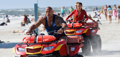 Baywatch mit Dwayne Johnson