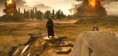 Batman v Superman: dieKnightmare-Szene