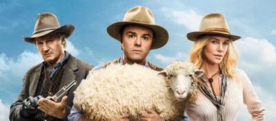 Gruppenbild mit Schaf. A Million Ways to Die in the West