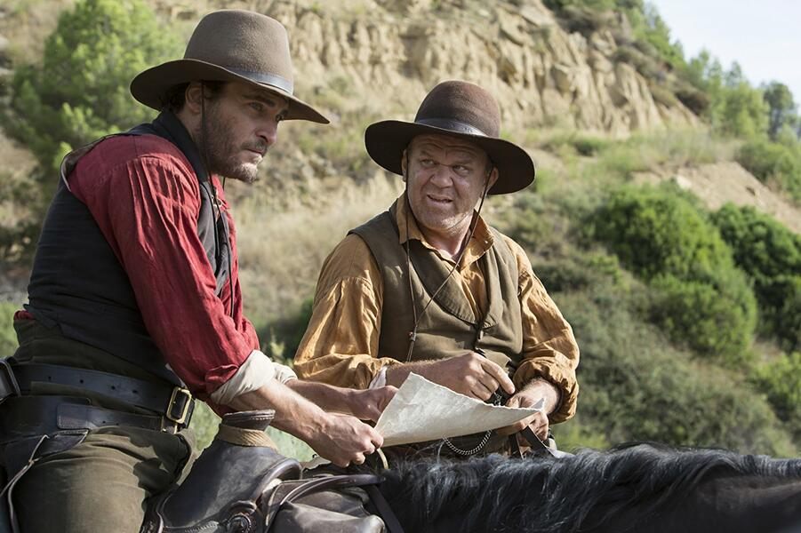 The Sisters Brothers mit Joaquin Phoenix und John C. Reilly
